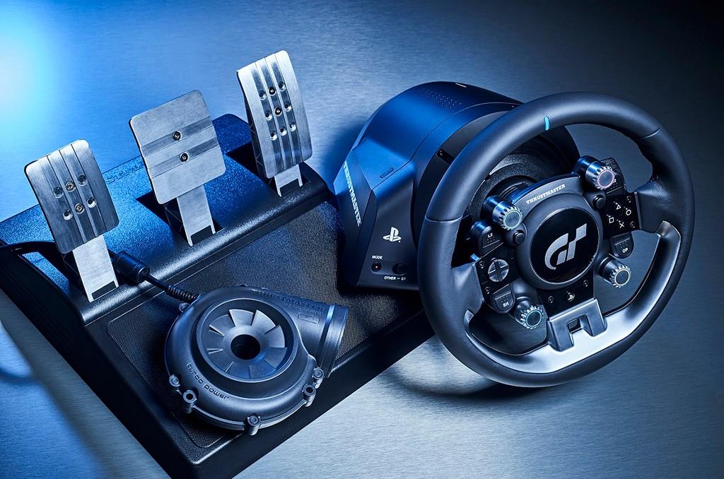 thrustmaster t gt un nuevo volante de competici n para disfrutar de gt sport. Black Bedroom Furniture Sets. Home Design Ideas