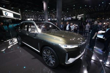BMW Concept X7 iPerformance debuta en el Salón de Frankfurt
