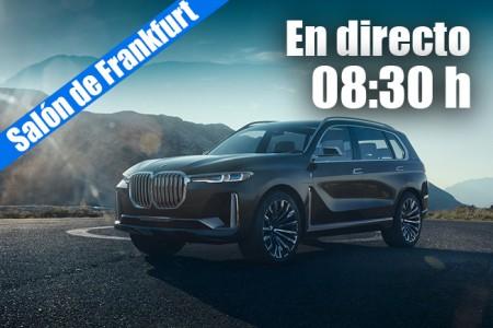 En directo: las novedades de BMW 2017 desde Frankfurt