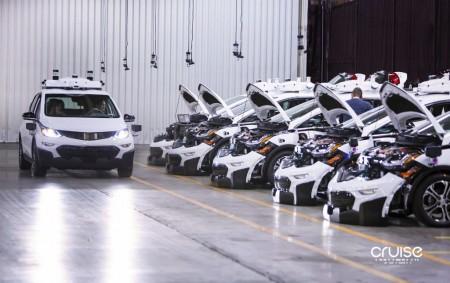 GM ya tiene el primer vehículo autónomo completo producible en serie