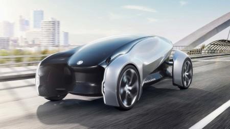 Jaguar Future-Type concept: el vehículo de lujo con volante inteligente