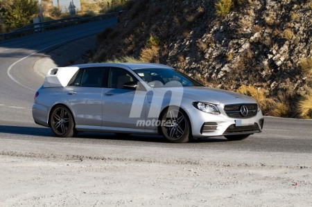 Mercedes tantea el uso del hidrógeno con este Clase E