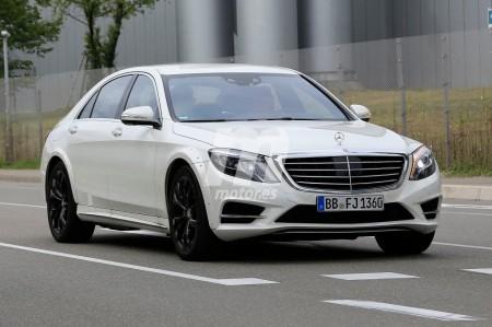 Mercedes Clase S 2021: cazada la primera mula de la nueva generación