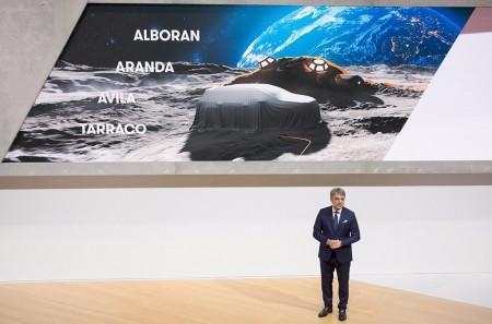 El nuevo SUV de 7 plazas de SEAT llamará Alborán, Aranda, Ávila o Tarraco