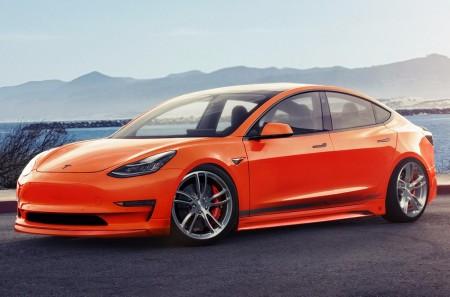Unplugged Performance adelanta su paquete de mejoras para el Tesla Model 3