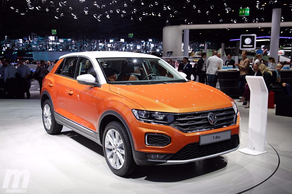 el nuevo volkswagen t roc en vivo desde frankfurt. Black Bedroom Furniture Sets. Home Design Ideas