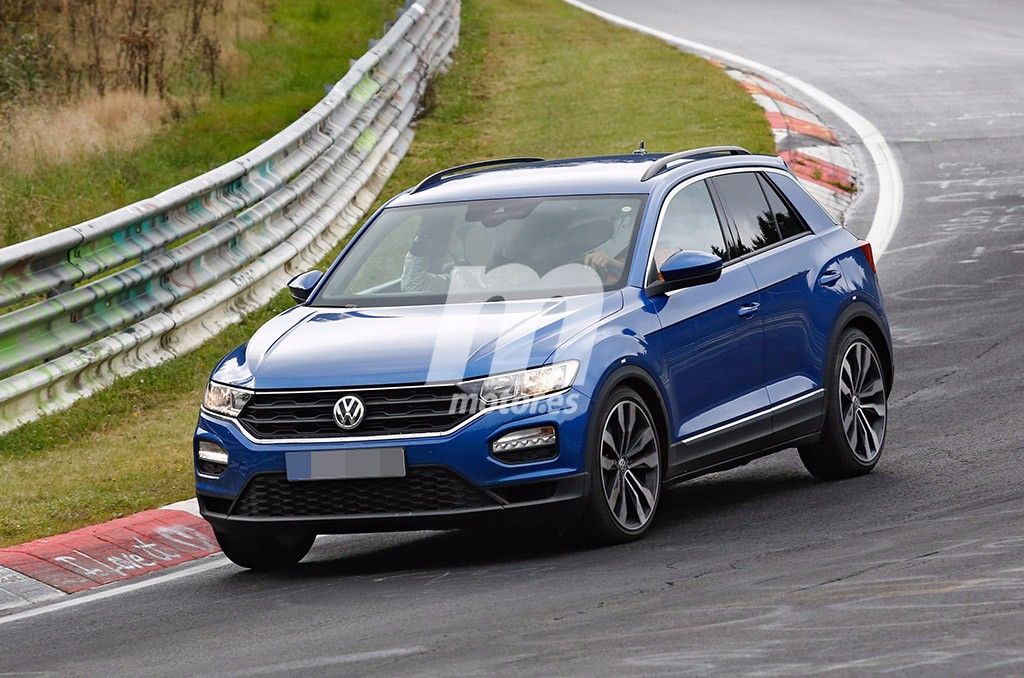 volkswagen t roc r cazada la futura versi n radical y deportiva. Black Bedroom Furniture Sets. Home Design Ideas