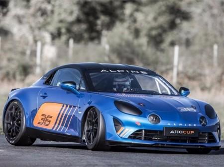 Alpine desvela oficialmente el A110 Cup de competición