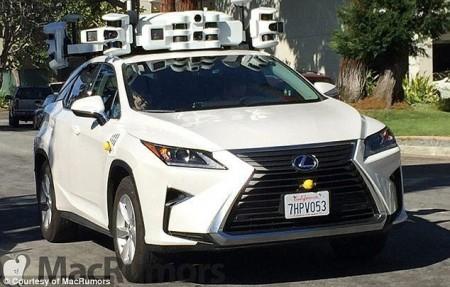 Prototipo autónomo de Apple cazado en la calle