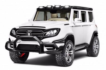 Ares X-Raid: una creación basada en el Mercedes-AMG G 63