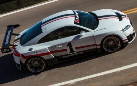 Audi presenta el brutal TT Clubsport Turbo Concept de 600 CV en el SEMA 2017