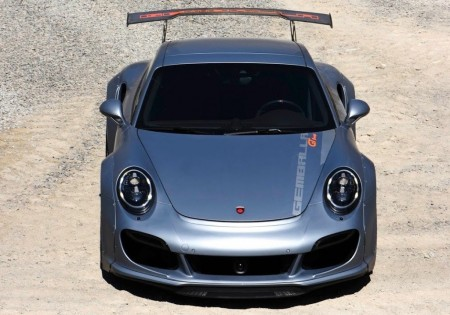 Gemballa GT Concept: el Porsche 911 Turbo elevado a 839 CV