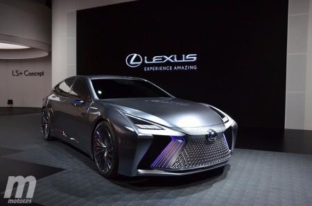 Te presentamos el nuevo Lexus LS+ Concept en vídeo desde Tokio