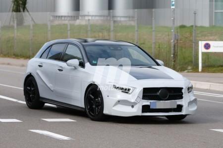 El nuevo Mercedes Clase A más desnudo que nunca