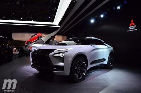 El Mitsubishi e-Evolution Concept en vídeo, desde el Salón de Tokio 2017