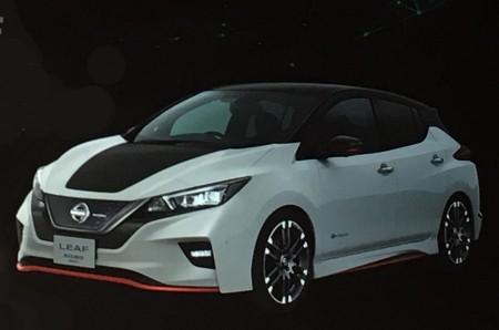 Nissan adelanta el nuevo Leaf NISMO Concept para Tokio 2017