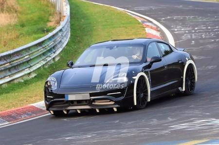 El futuro Porsche Mission E de producción se enfrenta a Nürburgring