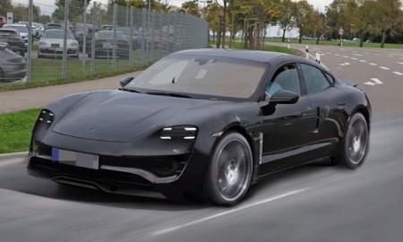 Porsche Mission E: render de la versión de producción