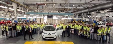 Renault fabrica en la planta de Flins su unidad 18 millones