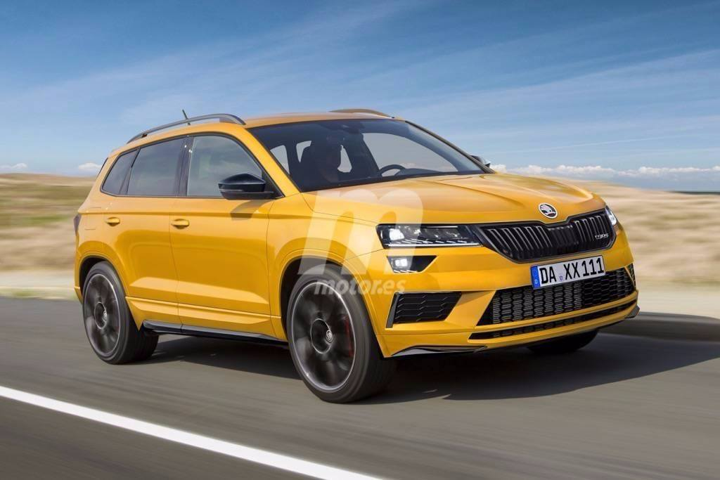 el futuro skoda karoq rs podr a llegar en 2019 estrenando un conjunto h brido. Black Bedroom Furniture Sets. Home Design Ideas