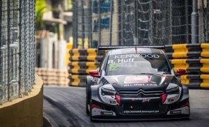 Huff gana la mojada carrera principal del WTCC en Macao