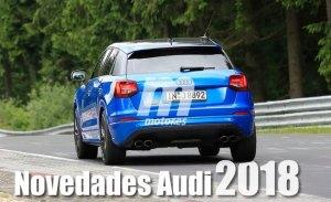 Audi planea presentar hasta 17 nuevos modelos durante 2018
