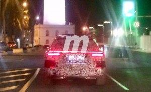 Las luces traseras del Audi Q8 se insinúan en estas nuevas fotos espía