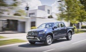 Cinco estrellas en seguridad para el Mercedes Clase X en Euro NCAP