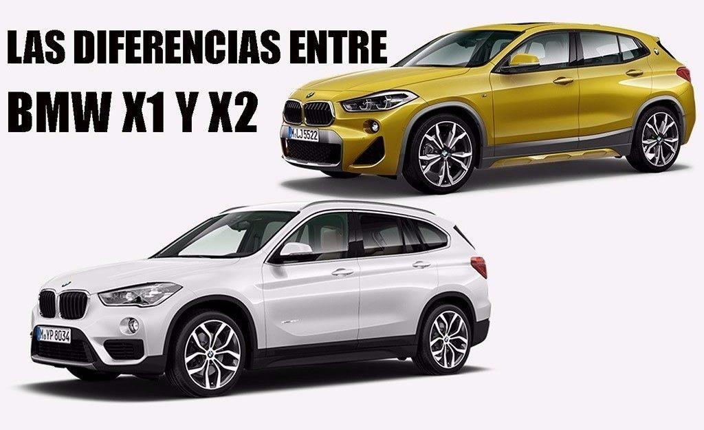 X1 Vs X3 >> BMW X1 vs X2, conoce sus diferencias - Motor.es
