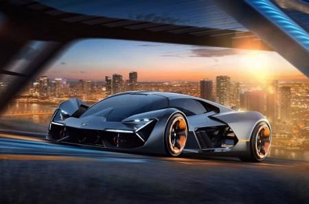 Lamborghini Terzo Millennio: eléctrico, ultraligero y muy futurista