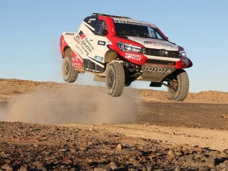 Dakar 2018: Un nuevo Toyota Hilux V8 para ganar