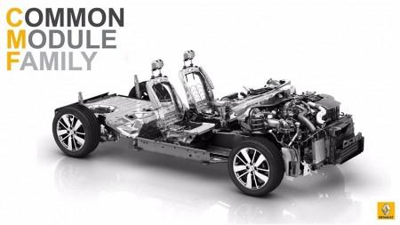 Plataforma modular CMF de Renault: concebida para albergar tecnologías hasta 2025