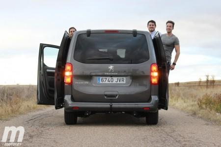 Prueba Peugeot Traveller Standard BlueHDi 180 CV: Viaje en primera clase