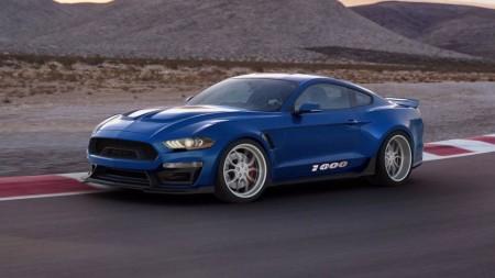 Shelby 1000: el primer Shelby sobre el Mustang 2018 llega con 1.013 CV