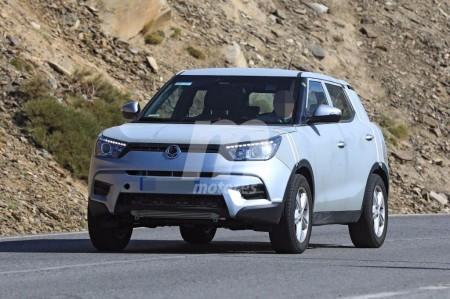 SsangYong continúa las pruebas para su futuro SUV compacto basado en el XALV Concept