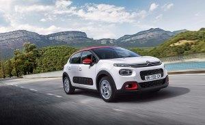 Italia - Octubre 2017: El Citroën C3 se viene arriba