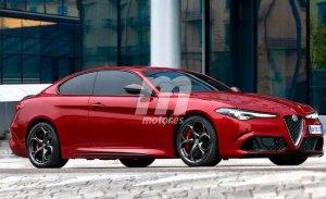 El Alfa Romeo Giulia Coupé llegará antes de 2020 al mercado