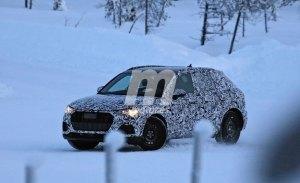 El nuevo Audi Q3 ya está realizando sus pruebas de invierno