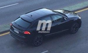 El nuevo Audi Q8 2018 se deja ver a plena luz del día casi al descubierto