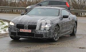 BMW Serie 8 Coupé: cazado a pocos meses de su presentación en Ginebra