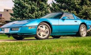 El prototipo del Corvette ZR1 descubierto abandonado en un desguace