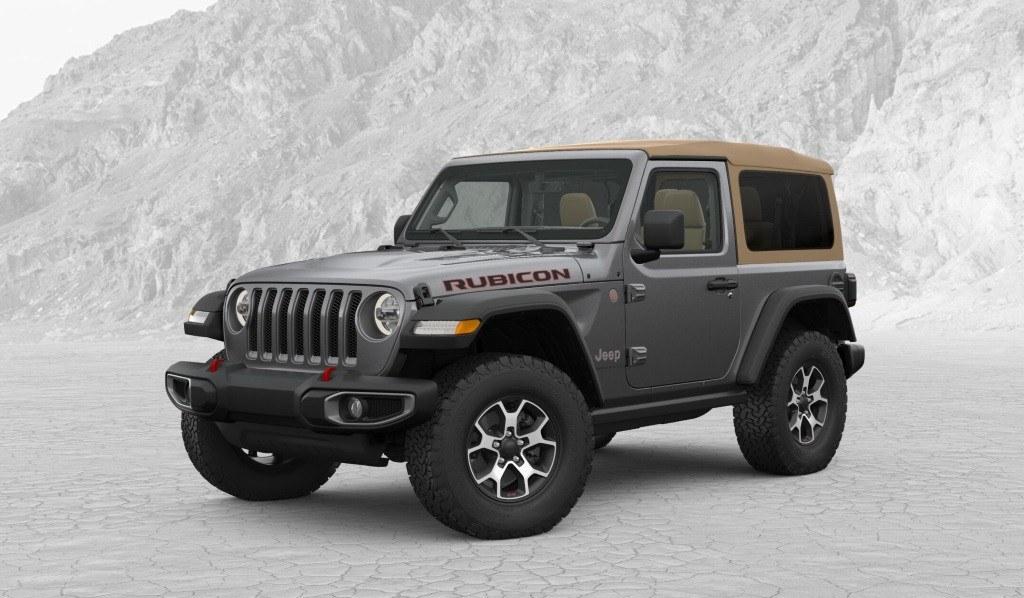 Ya está abierto el configurador del nuevo Jeep Wrangler ...