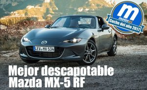 Mejor descapotable 2017 para Motor.es: Mazda MX-5 RF