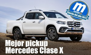 Mejor pick-up 2017 para Motor.es: Mercedes Clase X