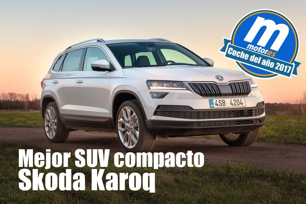 mejor suv compacto 2017 para skoda karoq. Black Bedroom Furniture Sets. Home Design Ideas