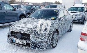 El nuevo Mercedes Clase A Hybrid 2019 se enfrenta a los test de invierno
