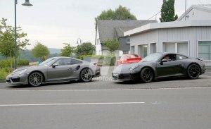 Las primeras imágenes del nuevo Porsche 911 híbrido enchufable