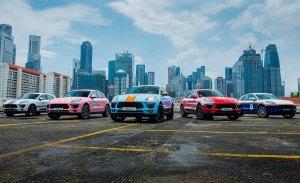 Así luce el Porsche Macan con 5 vestidos para una gala deportiva