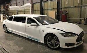 El Tesla Model S se convierte en una exclusiva limusina eléctrica