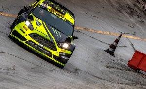 Valentino Rossi, líder por una décima del Monza Rally Show